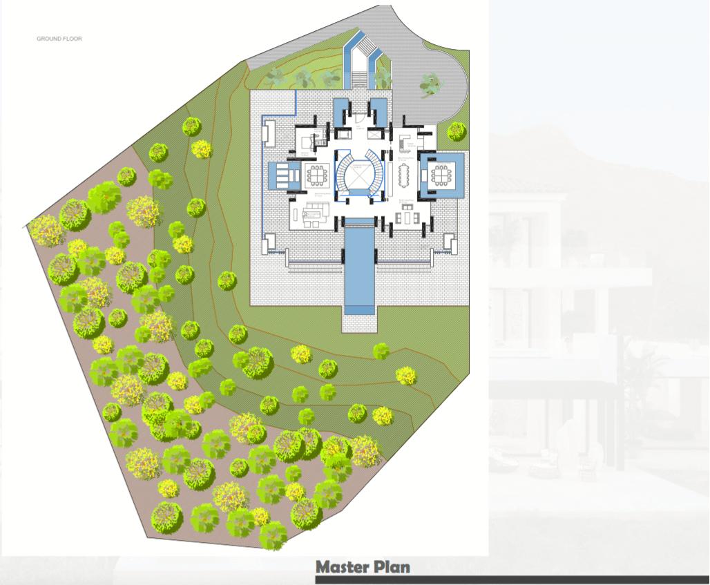 los almendros benahavis luxe moderne villa kopen design masterplan