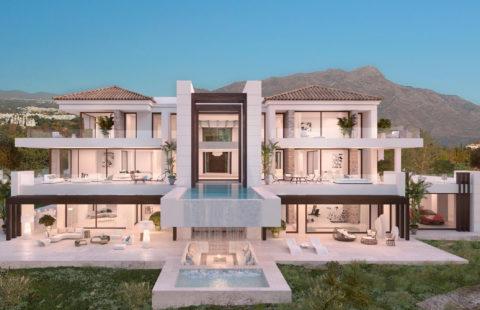 Los Almendros: moderne villa met uitzonderlijke zichten (Benahavis)