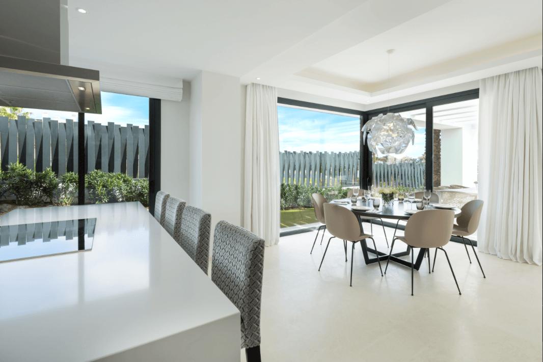 los olivos del paraiso benahavis moderne nieuwbouw villa te koop keuken eethoek