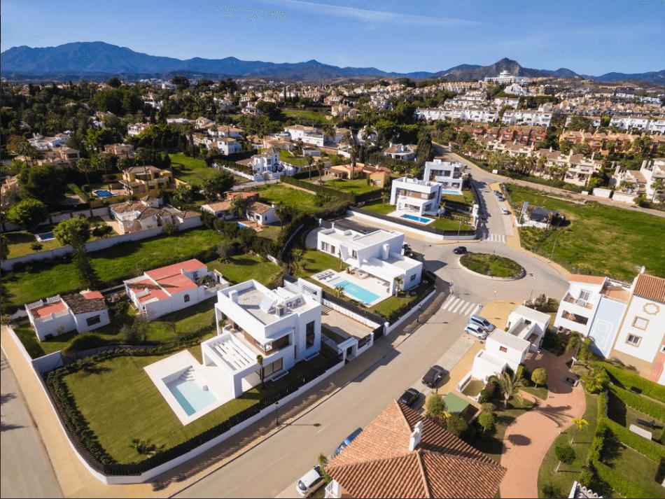 los olivos del paraiso benahavis moderne nieuwbouw villa te koop overzicht