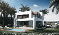 los olivos del paraiso benahavis moderne nieuwbouw villa te koop tuin