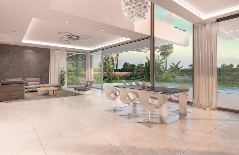 nieuwbouw villa te koop linda vista san pedro marbella salon