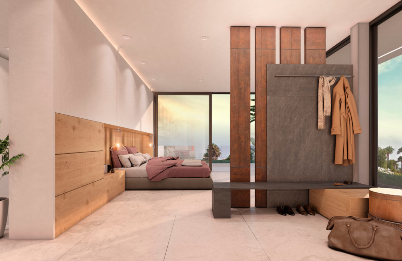 nieuwbouw villa te koop linda vista san pedro marbella slaapkamer