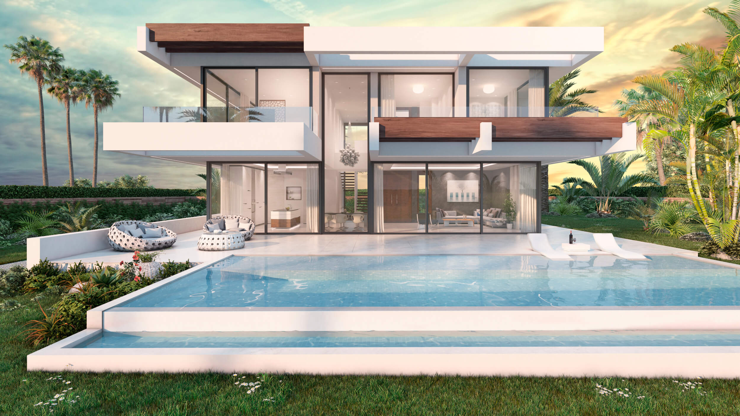 nieuwbouw villa te koop linda vista san pedro marbella zwembad