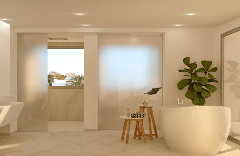 nine lions residences appartementen penthouses te koop nueva andalucia badkamer