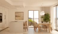 nine lions residences appartementen penthouses te koop nueva andalucia keuken