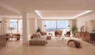 nine lions residences appartementen penthouses te koop nueva andalucia leefruimte