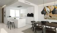 riva cabopino townhouse marbella huis kopen zeezicht keuken