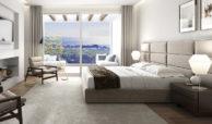 riva cabopino townhouse marbella huis kopen zeezicht slaapkamer
