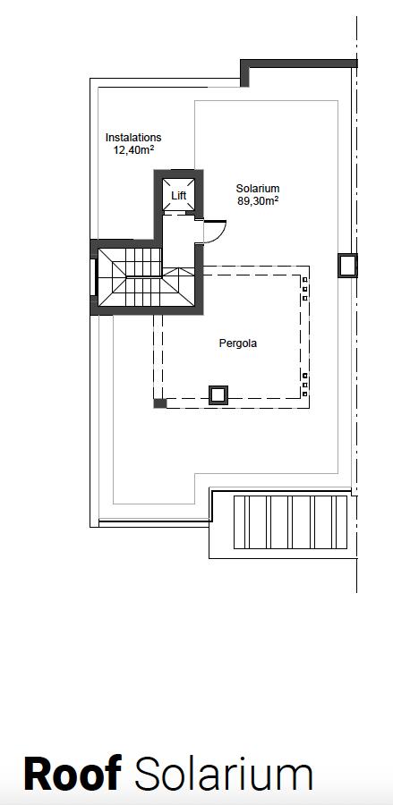 riva residences artola cabopino villa kopen grondplan solarium 5