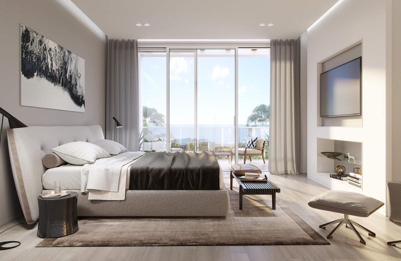 riva residences artola cabopino villa kopen master slaapkamer