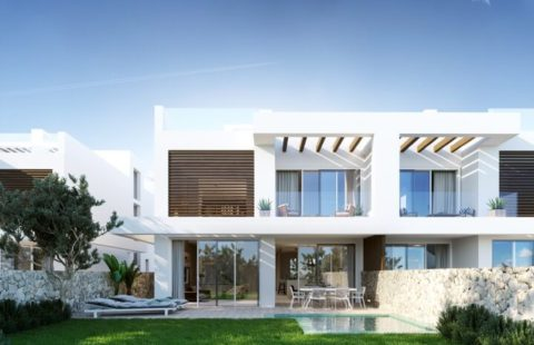 Riva Residences: moderne half-open golf huizen aan Hole 8 (Cabopino)
