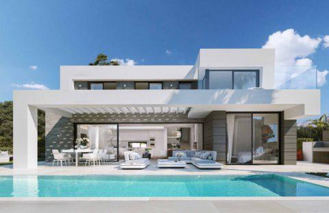 Cabo Royale: moderne villa's op wandelafstand van het strand (Mijas)