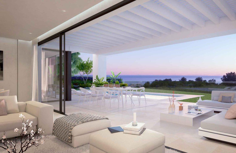 cabo royale villa te koop mijas calahonda cabopino wandelafstand zee type c terras