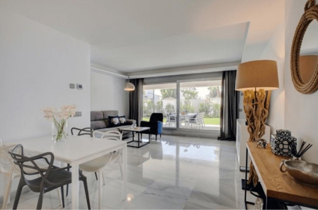 jade beach 3112786 taylor wimpey san pedro modern gelijkvloers appartement te koop leefruimte
