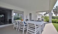 jade beach 3112786 taylor wimpey san pedro modern gelijkvloers appartement te koop terras eethoek