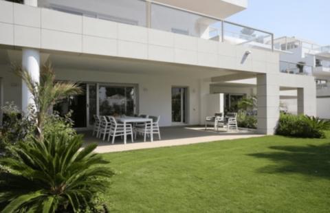 Jade Beach: recent gelijkvloers appartement (San Pedro de Alcantara)