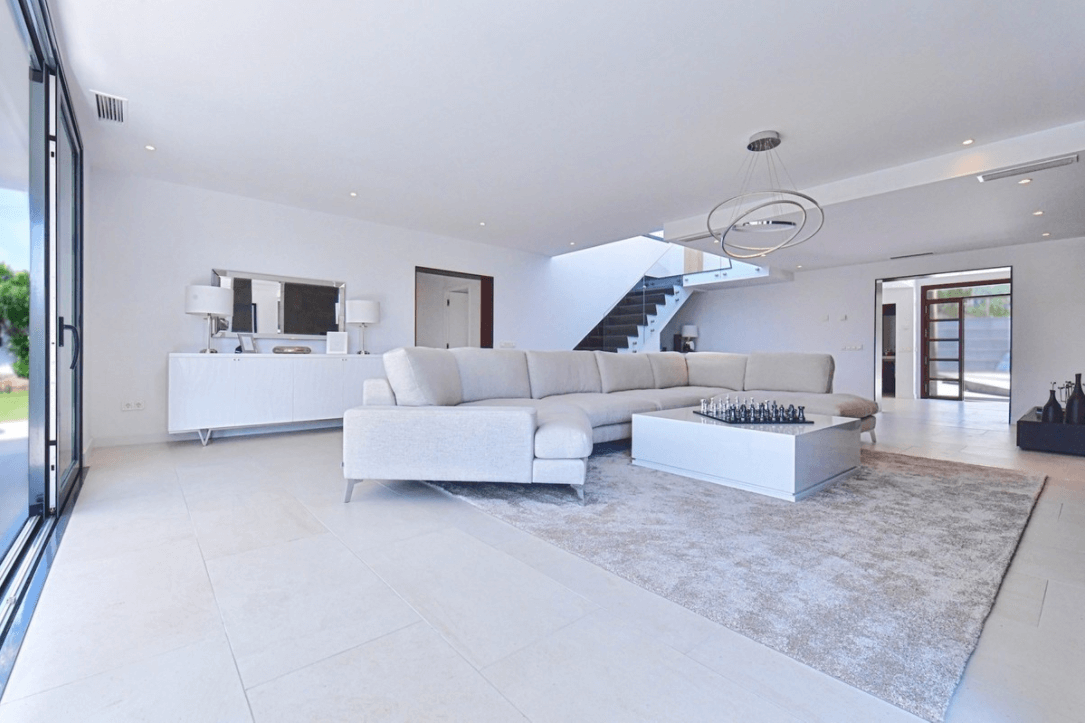luxe moderne villa golden mile marbella kopen open plan