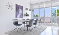 marbella real luxe penthouse appartement herverkoop kopen golden mile eethoek
