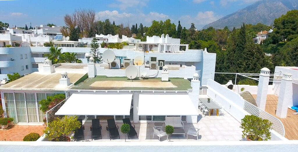 marbella real luxe penthouse appartement herverkoop kopen golden mile solarium