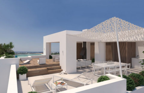 Unico: kleinschalig project met penthouses in Los Arqueros (Benahavis)