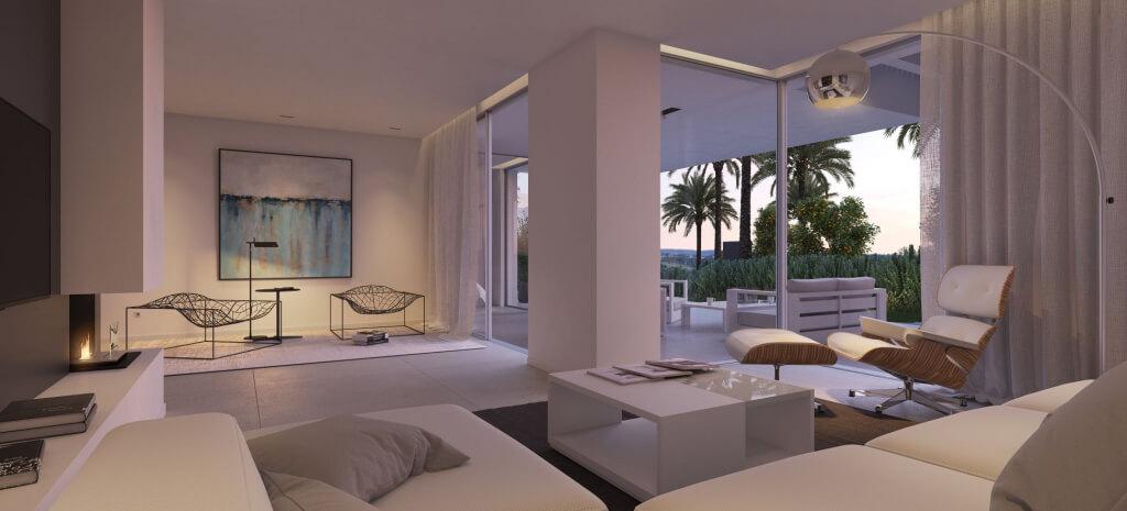 unico benahavis modern nieuwbouw appartement te koop zeezicht gelijkvloers