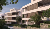 unico benahavis modern nieuwbouw appartement te koop zeezicht gevel