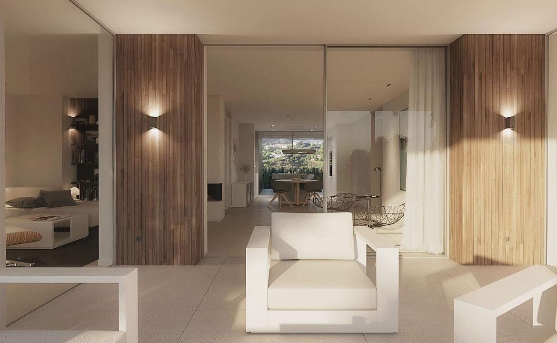 unico benahavis modern nieuwbouw appartement te koop zeezicht living terras