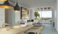 unico benahavis modern nieuwbouw appartement te koop zeezicht penthouse