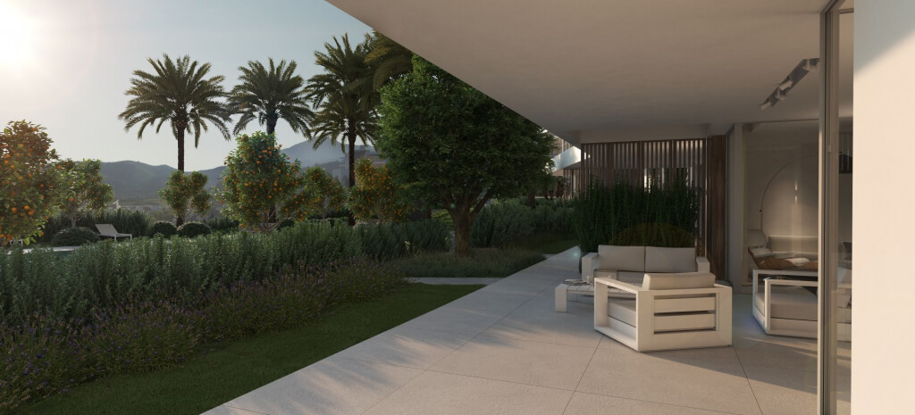 unico benahavis modern nieuwbouw appartement te koop zeezicht terras