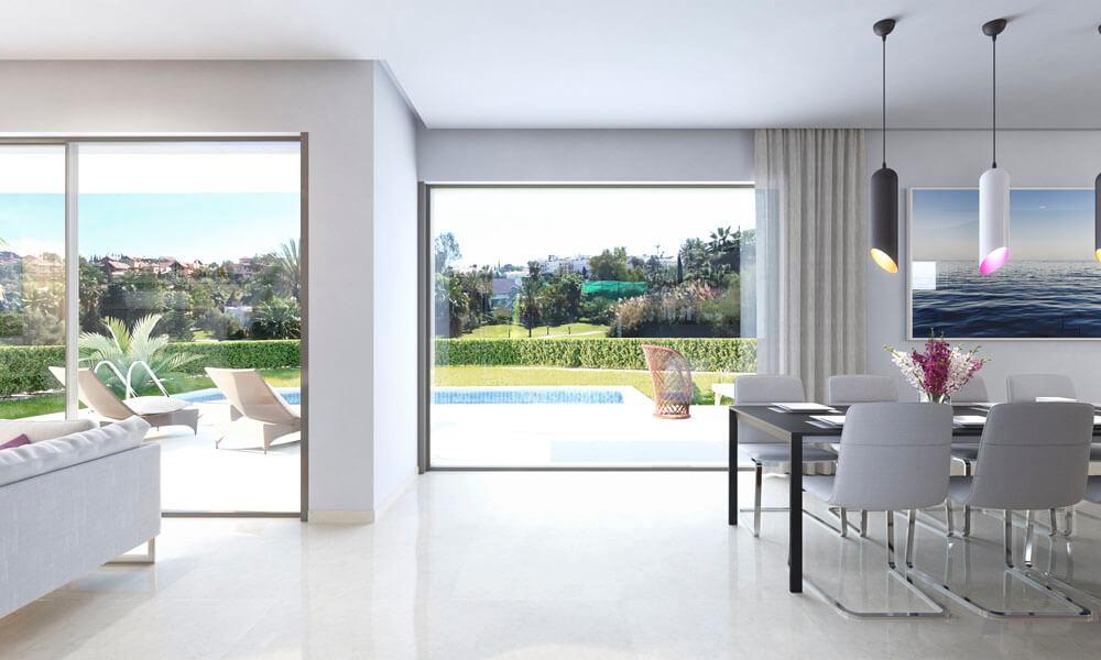 vistagolf villa te koop estepona el campanario new golden mile salon