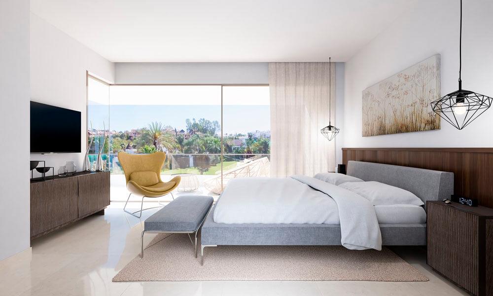 vistagolf villa te koop estepona el campanario new golden mile slaapkamer