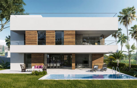 Vista Golf Villas: project met vier luxe golf villa's (El Campanario)