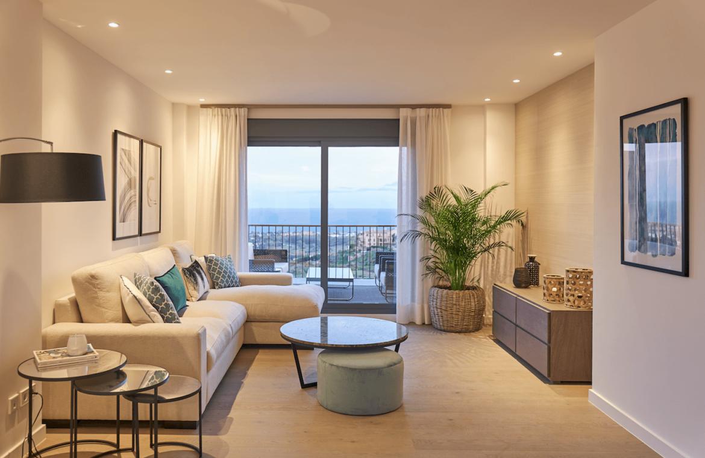 22 by quartiers benahavis appartement penthouse kopen zeezicht salon