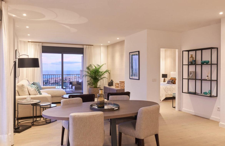 22 by quartiers benahavis appartement penthouse kopen luxe eettafel