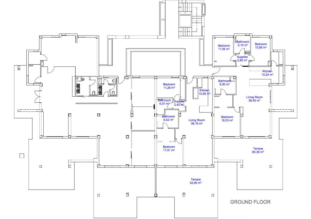 22 by quartiers benahavis appartement penthouse kopen luxe grondplan gelijkvloers