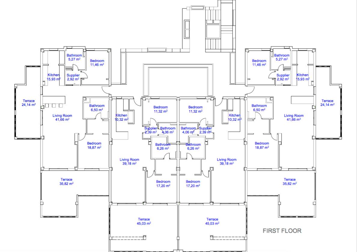 22 by quartiers benahavis appartement penthouse kopen luxe grondplan verdieping