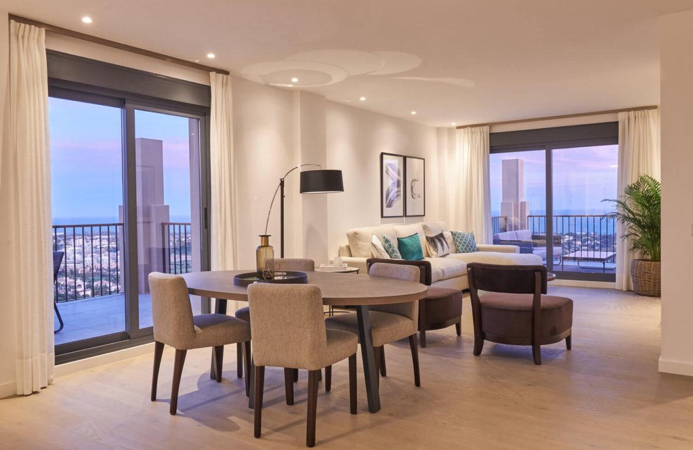 22 by quartiers benahavis appartement penthouse kopen luxe living