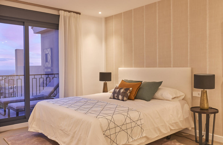 22 by quartiers benahavis appartement penthouse kopen luxe slaapkamer