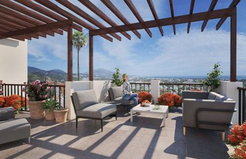 22 by Quartiers: vernieuwde penthouses met mooie zichten (Benahavis)