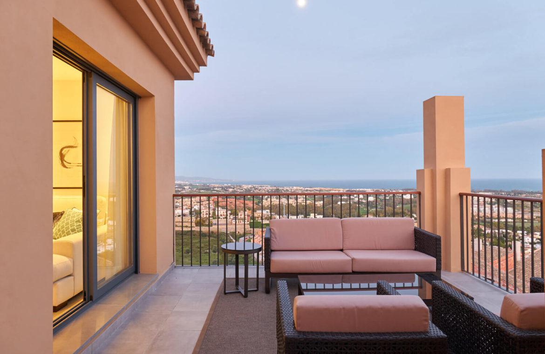 22 by quartiers benahavis appartement penthouse kopen luxe zicht