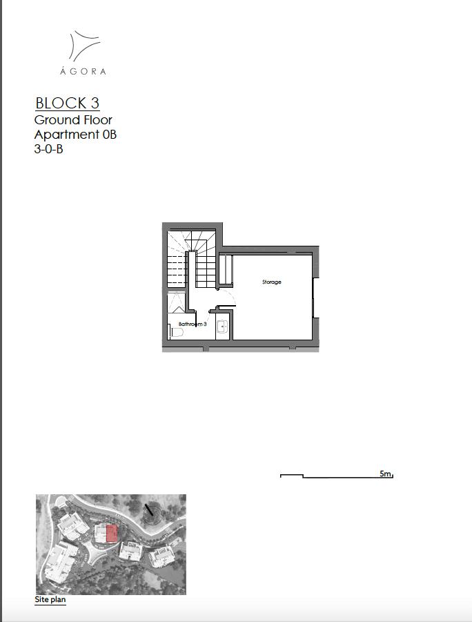 agora selwo new golden mile nieuwbouw modern appartement penthouse te koop rustig natuur 30B kelder