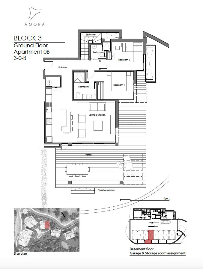 agora selwo new golden mile nieuwbouw modern appartement penthouse te koop rustig natuur 30B