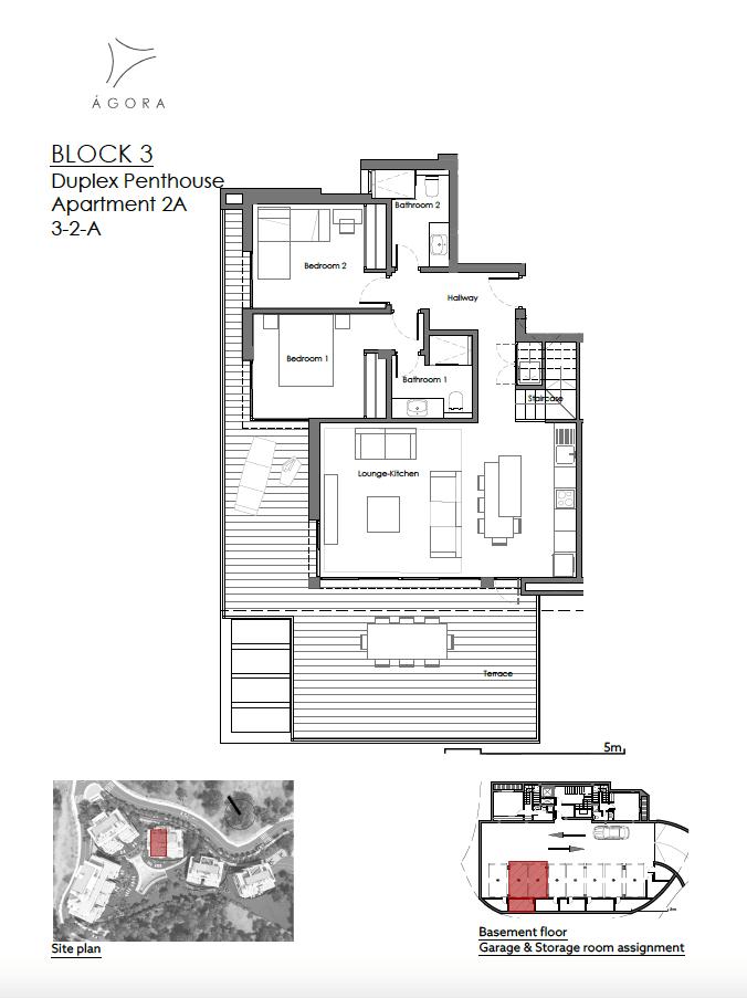 agora selwo new golden mile nieuwbouw modern appartement penthouse te koop rustig natuur 32A