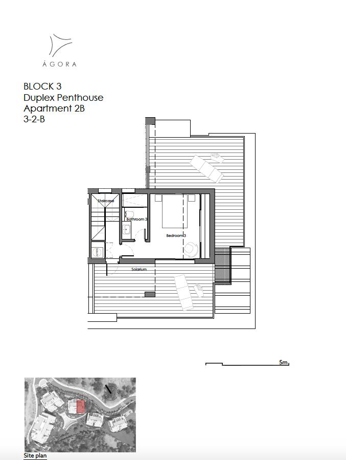 agora selwo new golden mile nieuwbouw modern appartement penthouse te koop rustig natuur 32B duplex