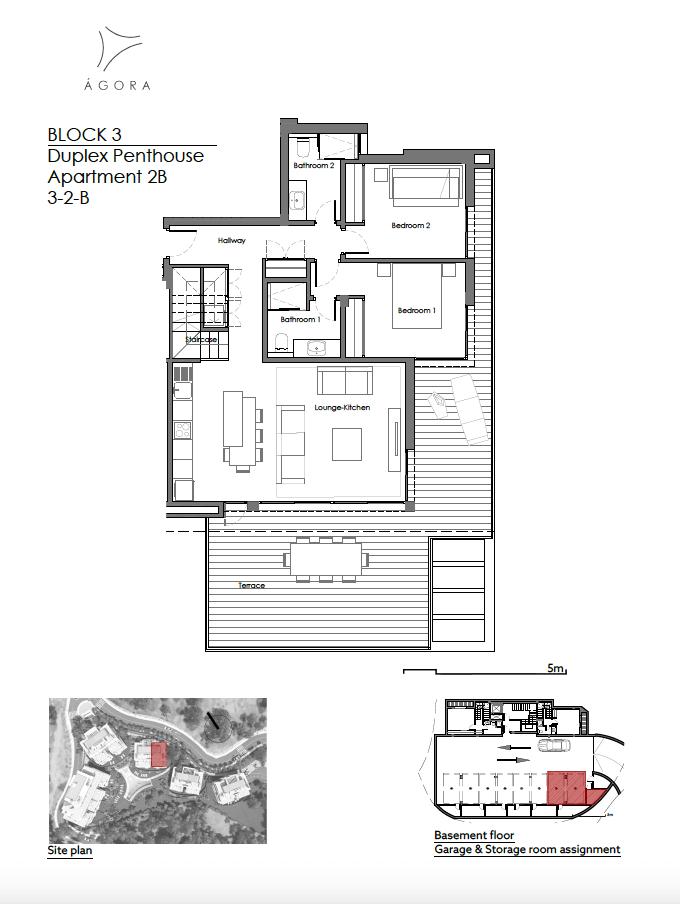 agora selwo new golden mile nieuwbouw modern appartement penthouse te koop rustig natuur 32B
