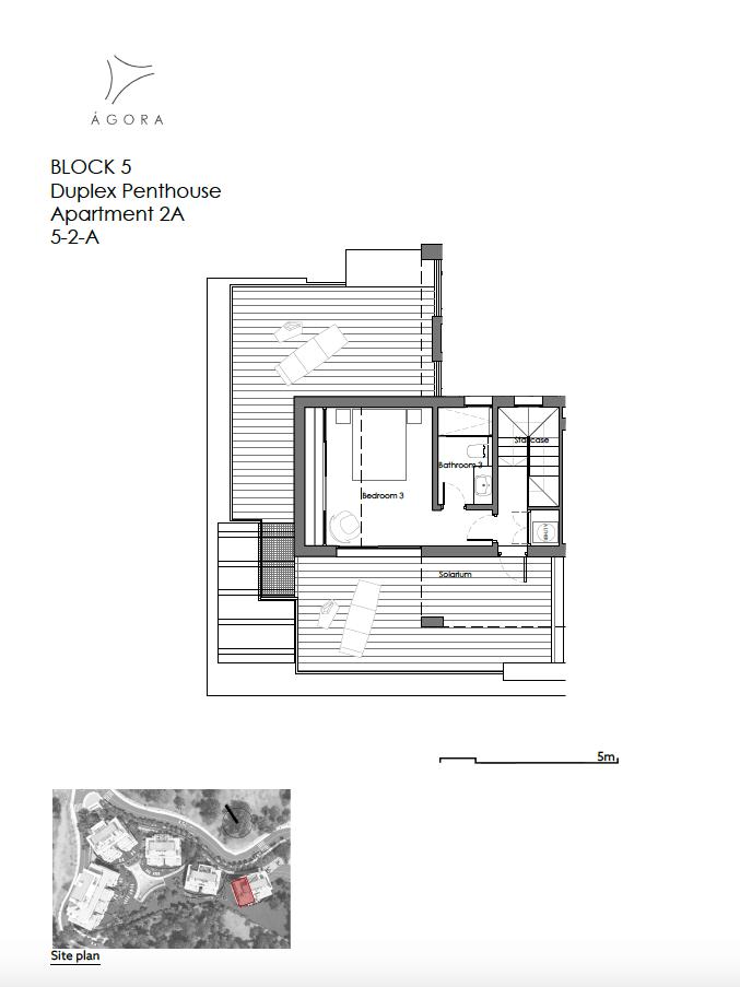 agora selwo new golden mile nieuwbouw modern appartement penthouse te koop rustig natuur 52A duplex