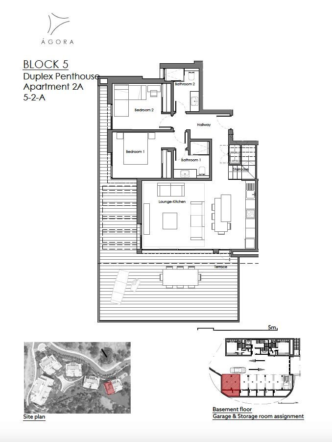 agora selwo new golden mile nieuwbouw modern appartement penthouse te koop rustig natuur 52A