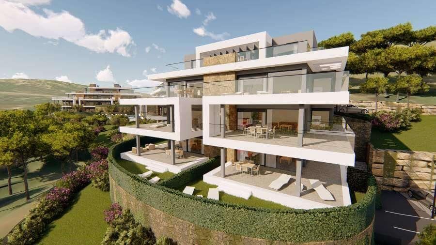 agora selwo new golden mile nieuwbouw modern appartement penthouse te koop rustig natuur design