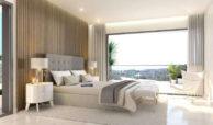 agora selwo new golden mile nieuwbouw modern appartement penthouse te koop rustig natuur slaapkamer
